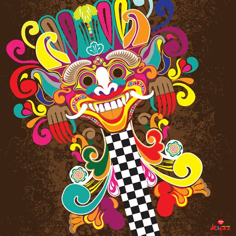 design graphics indonesia barong goes pop art indonesiaart and design inspiration