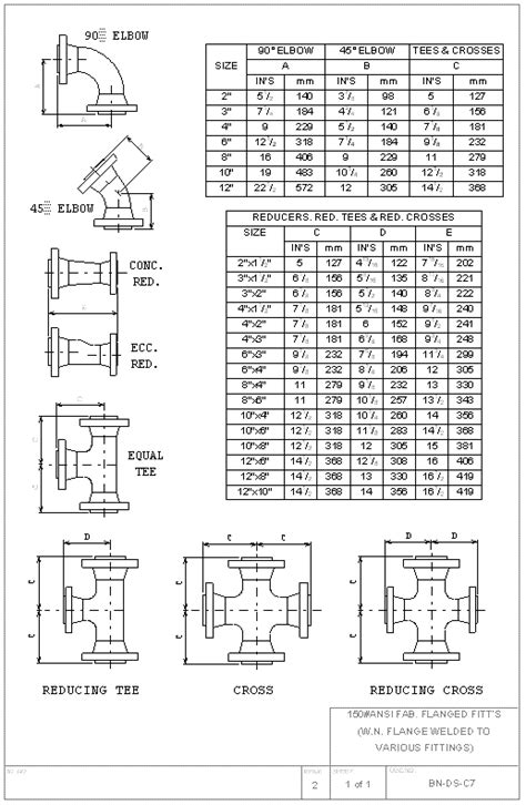 List Of Home Design Shows Bn Ds C07 Design Standard 150 Fabricated Flanged