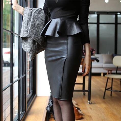 skirts 2015 office work to wear knee length high