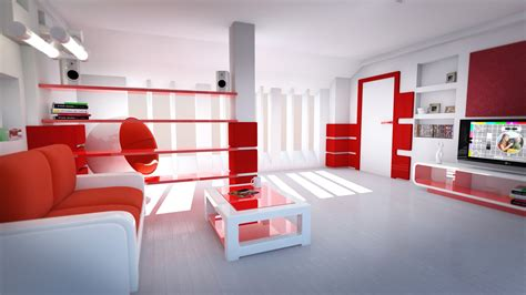 white and red living room red and white room wallpaper