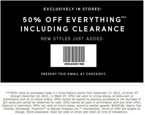 J Crew Printable Coupon j crew printable coupons printable coupons