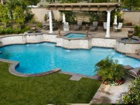 Patios And Pools by Mediterranean Inspired Swimming Pools Outdoor Spaces