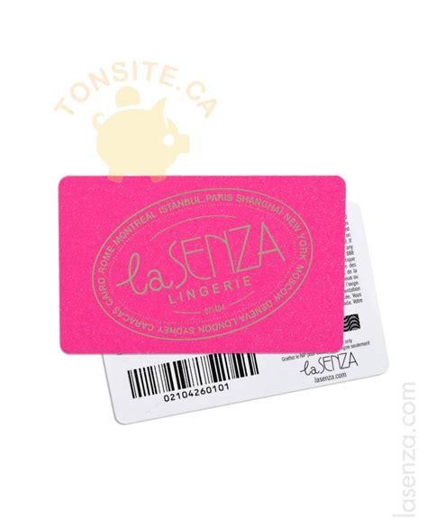 La Senza Gift Cards - concours la senza gagnez 500 ou 1 des 37 prix quotidiens tonsite ca 201 chantillon