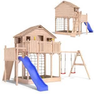Diy Playhouse Plans by Xxl Tour Cabane Arbre Enfants Playhouse Bac 224 Sable
