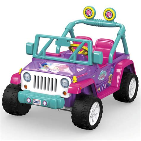 Power Jeep Power Wheels 174 Nickelodeon Shimmer And Shine Jeep 174 Wrangler
