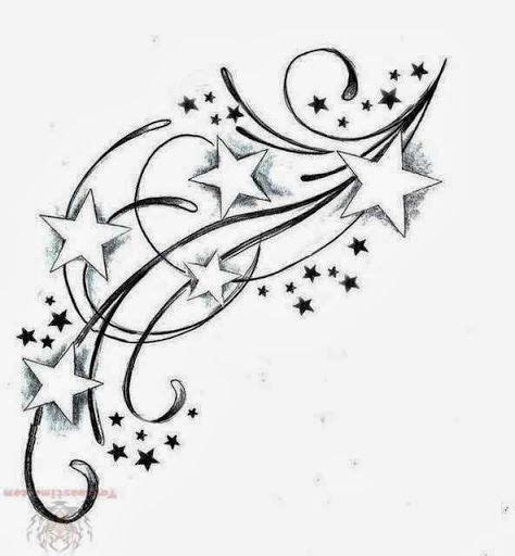 star and swirl tattoo designs foot tattoos for tattoos designs flower