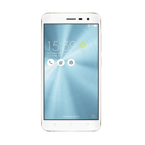 Handphone Asus New jual asus zenfone 3 ze552kl smartphone moonlight white 64gb 4gb harga kualitas