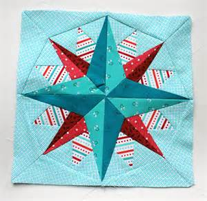 Free Paper Pieced Quilt Blocks by Paper Piecing Monday Wombat Quilts