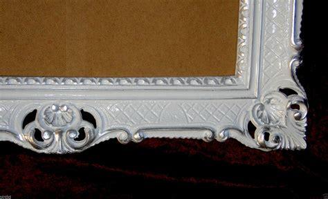 Edle Bilderrahmen by Bilderrahmen Barock Wei 223 Silber Hochzeitsrahmen Antik