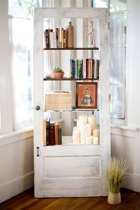 ways  upcycle salvaged doors giddy upcycled