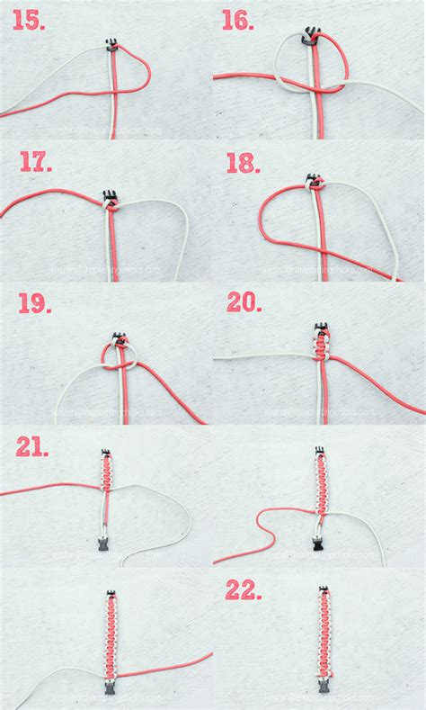 printable paracord instructions free printable paracord bracelet instructionsfree