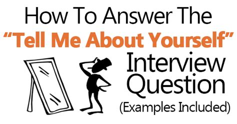 Tell Me About Your Resume Question Quot Tell Me About Yourself Quot Answers Exles Included