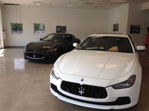 morris county maserati dealership drives on to route