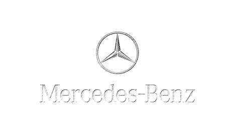 mercedes logo black and white mercedes logo on white background 1920x1080 hd motorsport