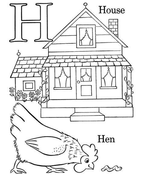 free coloring pages letter h bluebonkers free printable alphabet coloring pages letter h