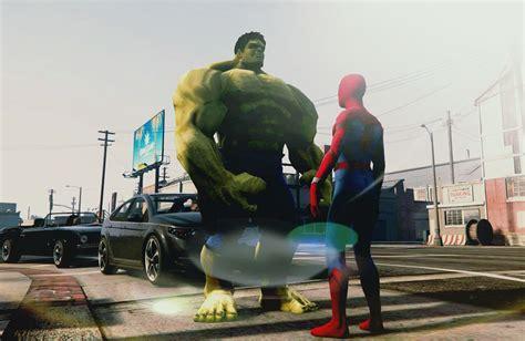 mod gta 5 ps3 hulk bigger hulk ped add on gta5 mods com