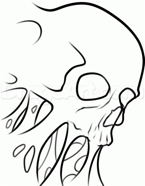 tattoo flash how to draw how to draw a skull tattoo step by step tattoos pop