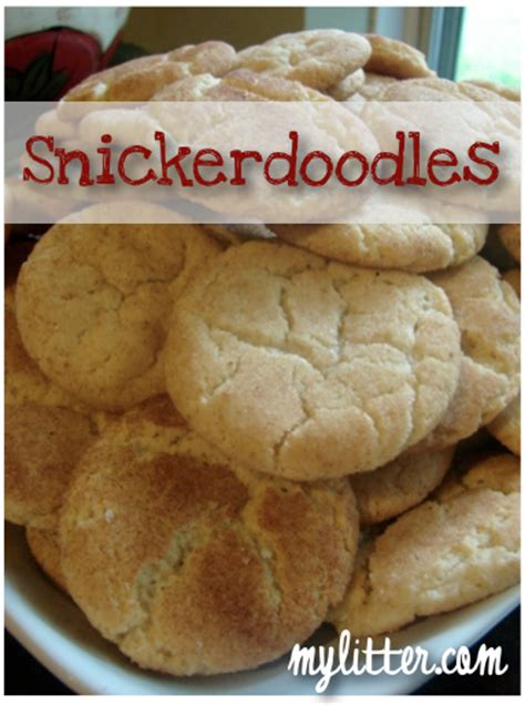 Forget The Snickerdoodle A Snickers Cookie Instead by Best Snickerdoodle Cookie Recipe Mylitter One Deal At