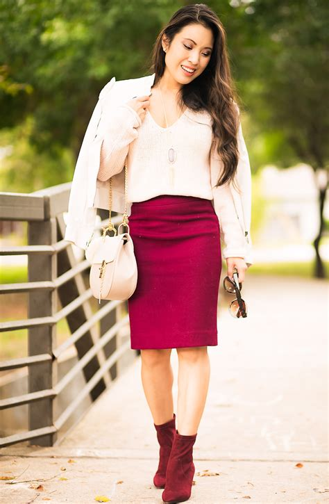 pencil skirts ankle booties dallas