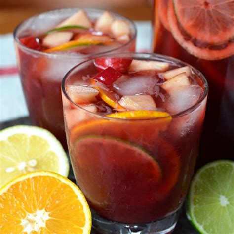 drinks non alcoholic recipe non alcoholic sangria drink recipes from the