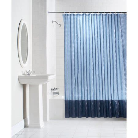 solid color shower curtains mainstays lenticular solid color peva shower curtain