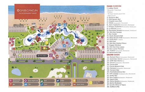 oasis map 100 map of cancun how does it take to go from cancun to chichen itza all map of