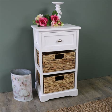 white rattan chest of drawers white wood wicker 3 drawer basket chest of drawers bedroom