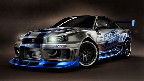 nissan skyline fast and furious 7 nissan skyline fast and furious 7 wide wallpaper