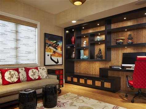 Homes Decorators Collection by Arnold Schulman Asian Home Office Miami By Arnold