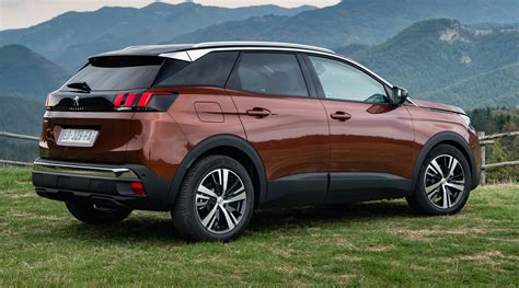 peugeot 2006 suv 2018 peugeot 3008 pricing and specs suv touches