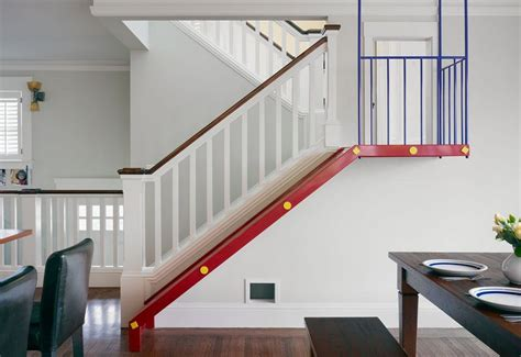 Bungalow Stairs Design Turn The House Into A Playground Slides Designed For