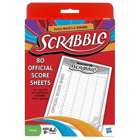Hasbro Scrabble Score Sheets Driverlayer Search Engine