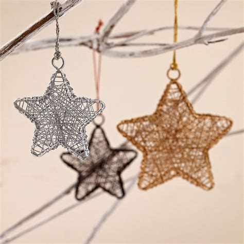 make your home shine through details how ornament my eden handcrafted wire star decorations by paper high