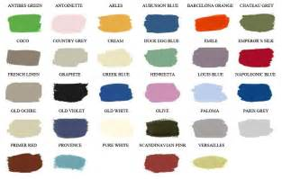 sloan color chart the painted attic welcome pages color chart