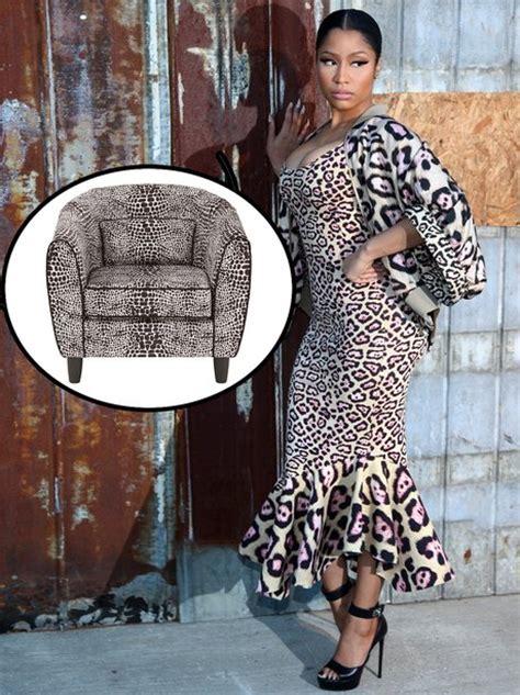 Nicki Minaj Chair by Nicki Minaj And This Armchair From A Chaise Longue To A