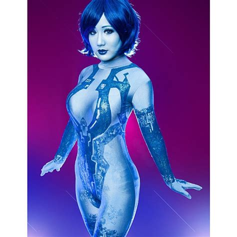 cortana do you own a thong cosplay photoshoot of chubearcosplay of cortana from