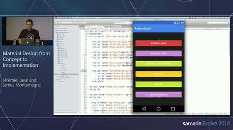 xamarin android the layout could not be loaded xamarin evolve 2014 material android design pt 1
