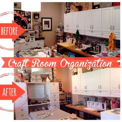 Decluttering Blueprint Step 4 Organizing Your Family Room by Steph Zerbe Design Craft Room Peek
