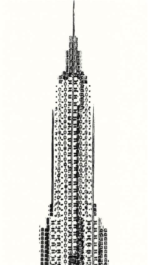 Designyourhome drawing the empire state building using bicycle tracks 1