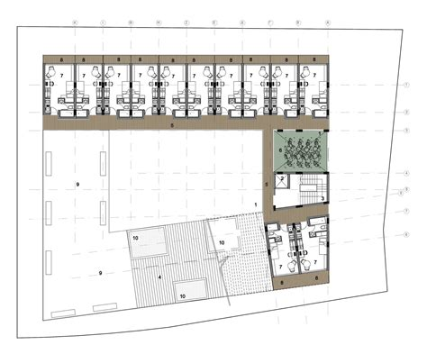 therme vals floor plan gallery of cyc students residence ekky studio 3