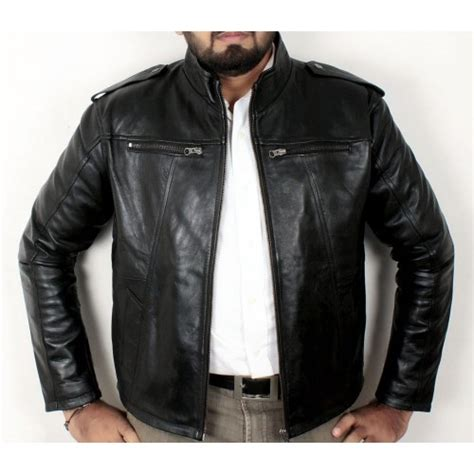 Stand Up Collar Jacket stand up collar leather jacket ff 1211 price in pakistan