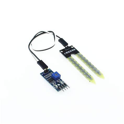 Sensor Kelembaban Tanah Soil Moisture Sensor Module Hygrometer Modul 1 soil hygrometer humidity detection module moisture water sensor soil moisture for arduino diy