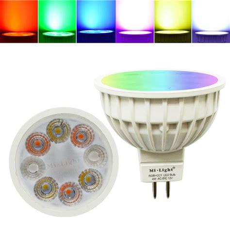 dimmable led light bulbs for home dimmable mr16 4w rgbww mi light led spotlight l bulb