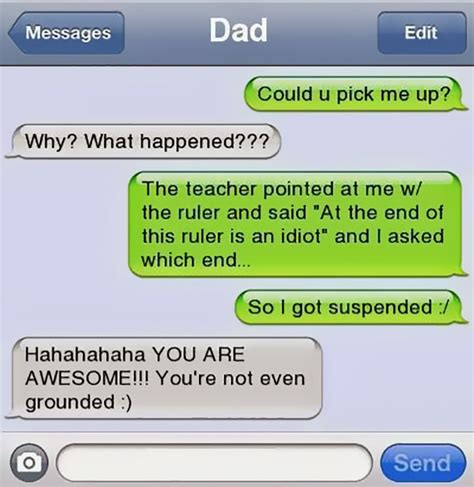 Funny Texts - 10 of the funniest texts from dads ever bored panda