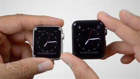 Apple 38mm apple 38mm vs 42mm comparison it news