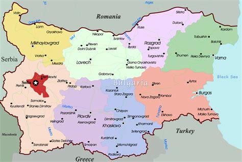 map of bulgaria bulgaria map europe thefreebiedepot