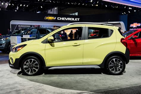chevrolet spark activ pictures gm authority