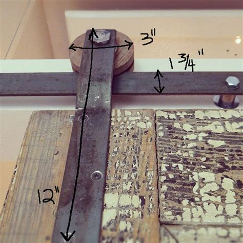 Make Your Own Barn Door Track Diy How To For Track Doors Design The You Want To Live