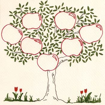 template for family tree mac 6 best images of apple tree free printable template