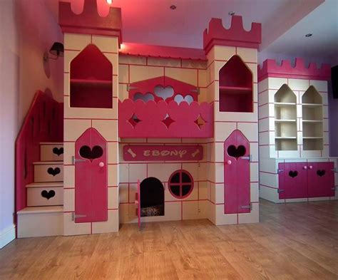 Wanna Treat Your Kids Just Apply Disney Bunk Beds Castle Bunk Bed